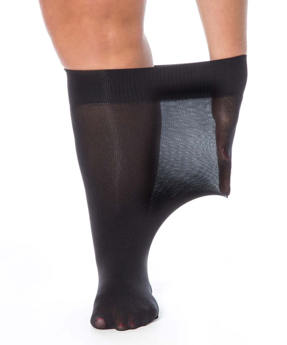 All Woman Superwide Extra Large Anklet Socks 20 Denier Swollen Ankles Feet Legs